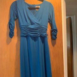 Nue by shani blue bodycon dress